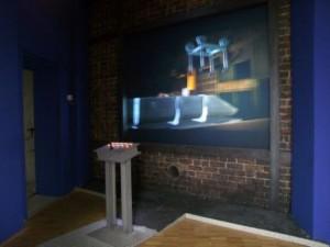 Интерактивная стереоинсталляция в Hoesch-Museum (Музей сталеварения) в Дортмунде