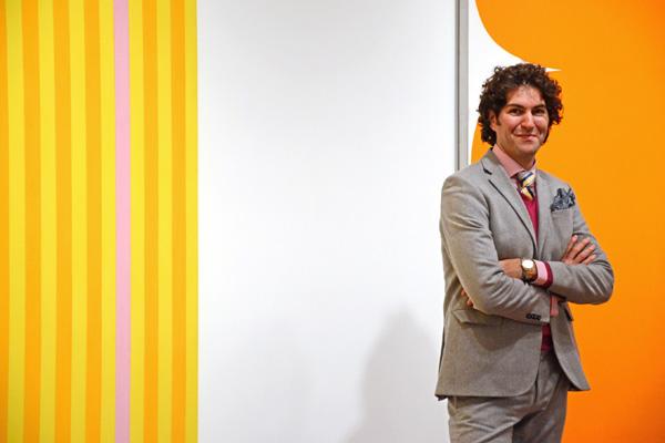 Адам Розен, Директор по вовлечению аудитории (Director of Audience Engagement) Вустерского музея искусств. Источник фото: Worcester Art Museum.