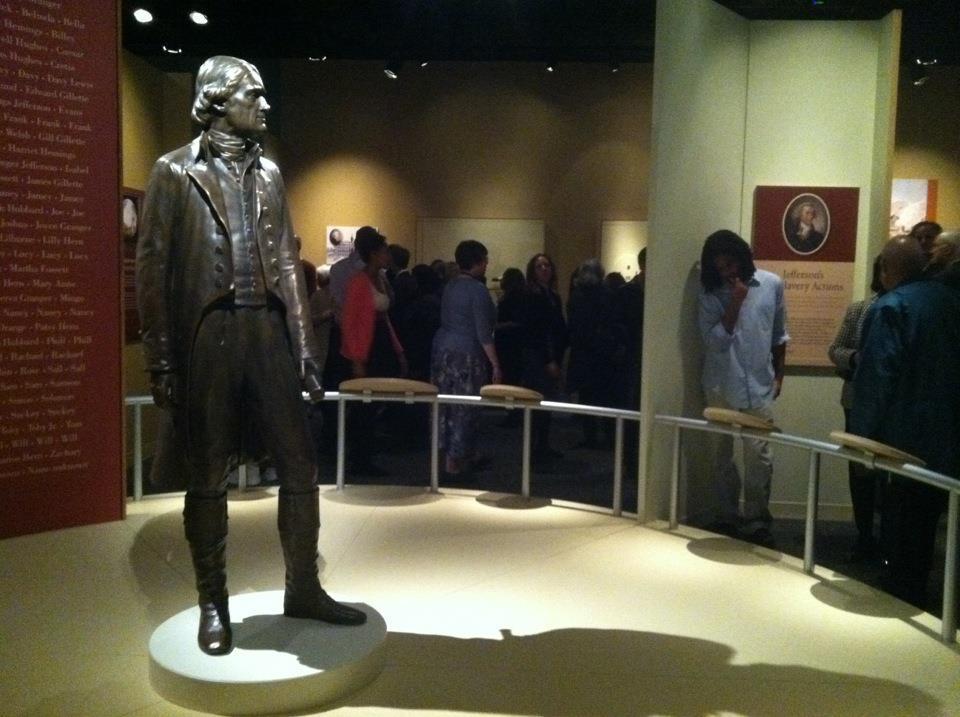 Копия памятника Томасу Джефферсону, выполненная при помощи 3D-печати. Фото: Smithsonian.