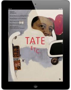 Приложение TATE ETC. magazine доступно бесплатно всем членам клуба друзей галереи.